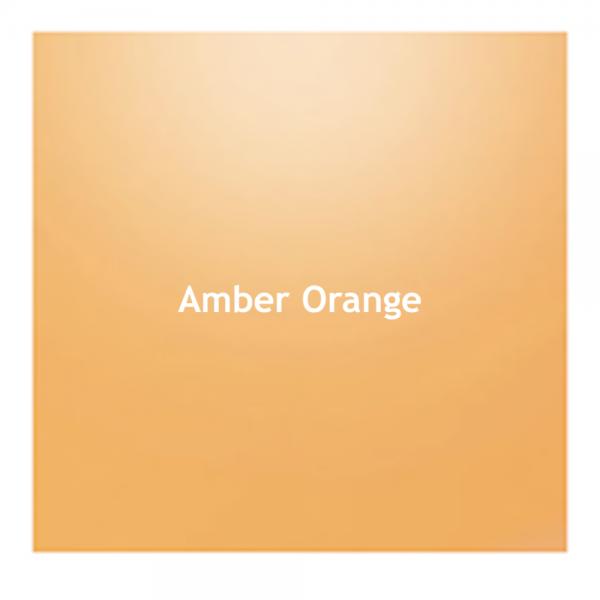 Amber Orange Color Chip