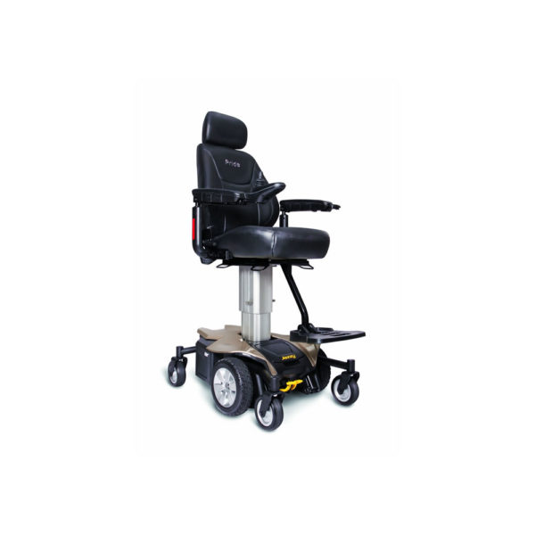 Jazzy Air power chair in gold right view