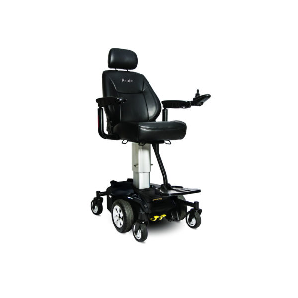 Jazzy Air power chair in black right view