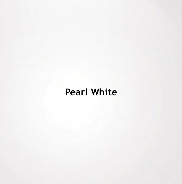 Pearl White Color Chip