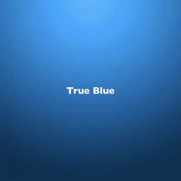 True Blue Color Chip