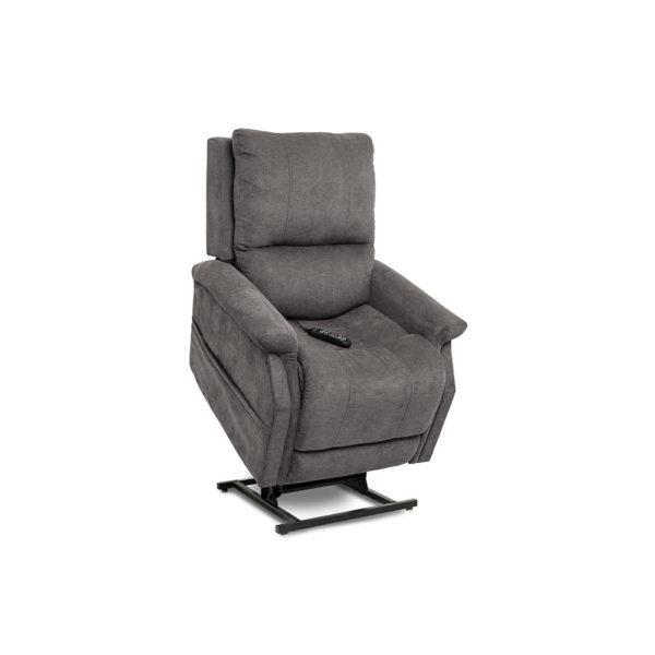 Pride VivaLift Metro lift chair in saville gray raised