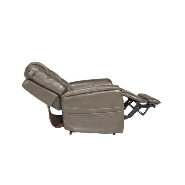 Pride VivaLift Elegance lift chair in badlands mushroom reclined