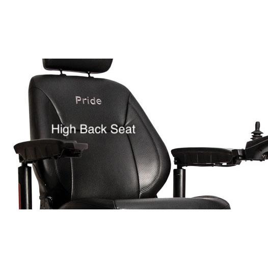 power chair high back rest
