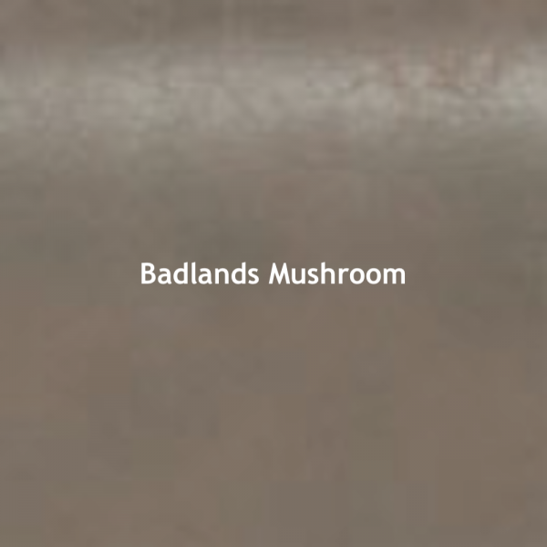 Badlands Mushroom Color Chip