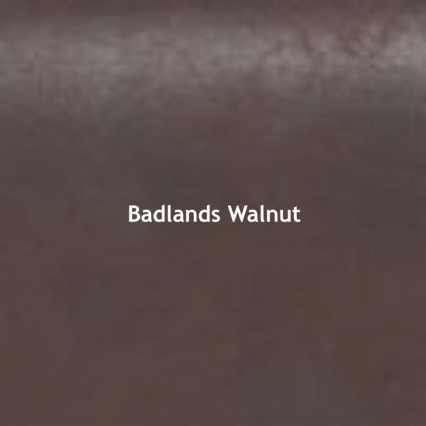 Badlands Walnut Color Chip