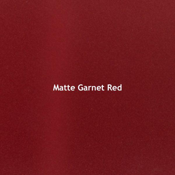 Matte Garnet Red Color Chip