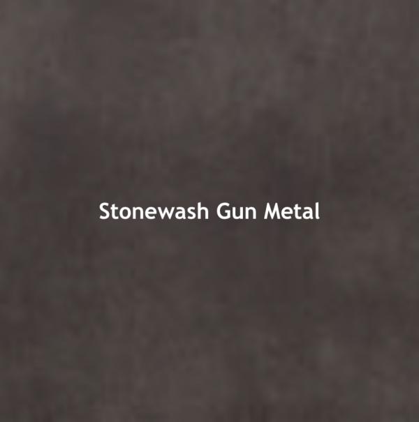 Stonewash Gun Metal Color Chip